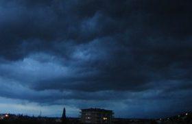 Ciklon nad Podgoricom (foto)