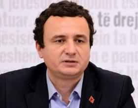 Kurti: Zaustavljamo demarkaciju sa Crnom Gorom