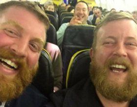 Dvojnici se sreli u avionu