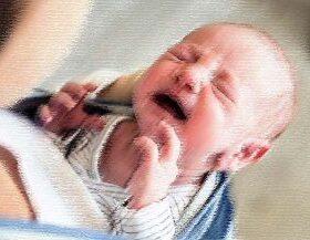 Dječji plač u vrelom autu