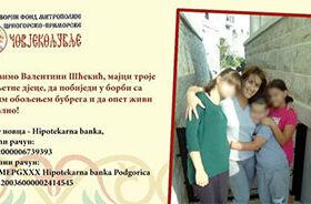 Apel za pomoć Valentini Šćekić