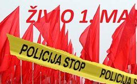 Policija zabranila prvomajsku šetnju u Podgorici