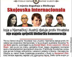 Novinari na meti 'Hrvatskog tjednika' zbog pisanja o Blajburgu