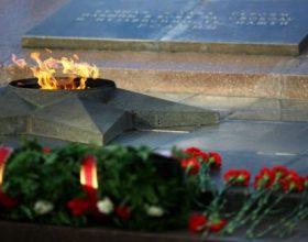 Ceremonija prenosa vječne vatre iz Rusije u Sloveniju