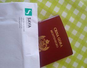 Neko je, ipak, pasoše stavljao u koverte sa logom 'Sava osiguranja'