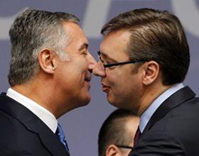 Đukanović: Vučićeve izjave samosažaljivo prenemaganje