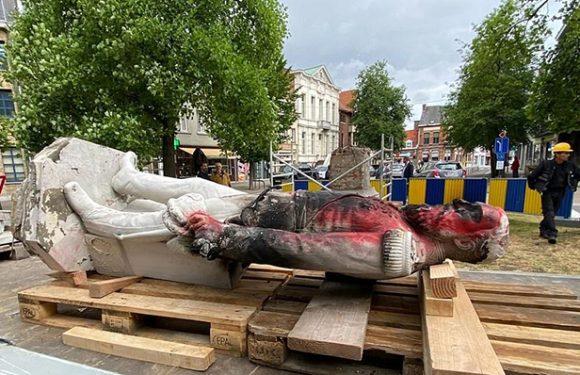 Uklonjena statua Leopolda II u Antverpenu | PCNEN