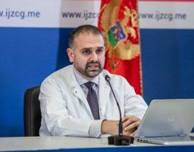 Radojević: U bolnicama 191 COVID pacijent