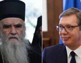 Hronologija sukoba mitropolita Amfilohija i Vučića