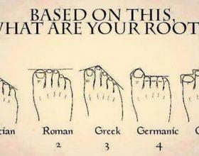 Oblik vašeg stopala krije istinu o drevnom porijeklu