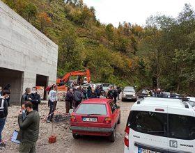 Privedeni mještani zbog blokade radova na mHE Skrbuša