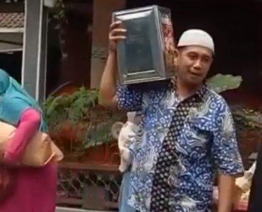 Mladoženja promašio crkvu (video)