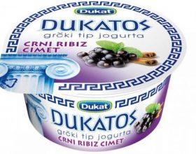 Dukat povlači dva voćna jogurta zbog pesticida