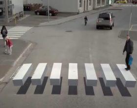 3D pješački prelazi (video)