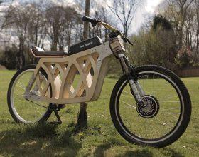 Drveni električni bicikl (video)