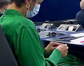 Klot-frket u evropskom parlamentu (video)